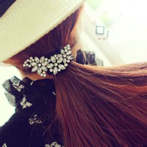 Rhinestone Wedding Flower HairClip for Women