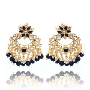 Freshwater Pearl Black Earrings for Women