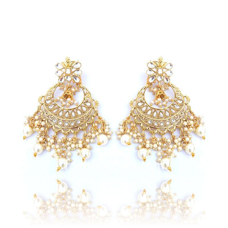 Traditional Indian Wedding Designer Earrings