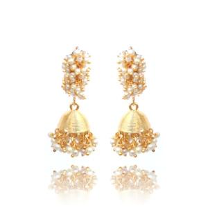 Traditional Pearl Earrings for Women