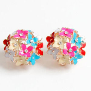 Multicolor Casual Stud Earrings for Women