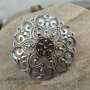 Big Size Handmade Oxidized Silver Finger Ring