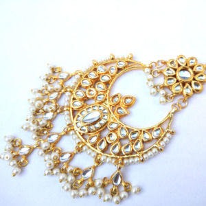 Bridal Kundan Big MaangTikka for Women