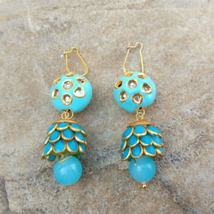 Blue Pacchi Pearl Earrings