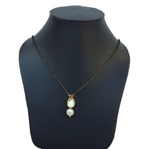 Kundan Pearl Mangalsutra