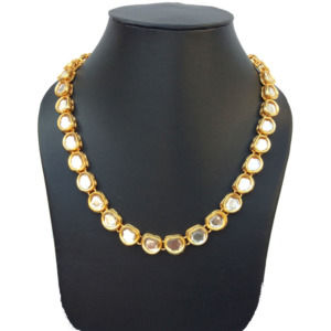 Single Layer Kundan Necklace Set