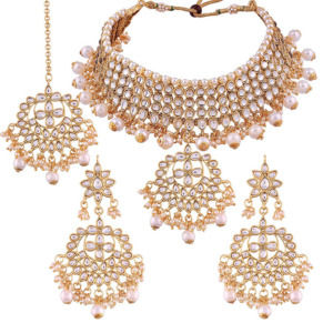 Bridal Kundan Jewellery Set for Bride