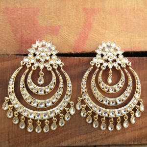 Big Chandbali Earrings