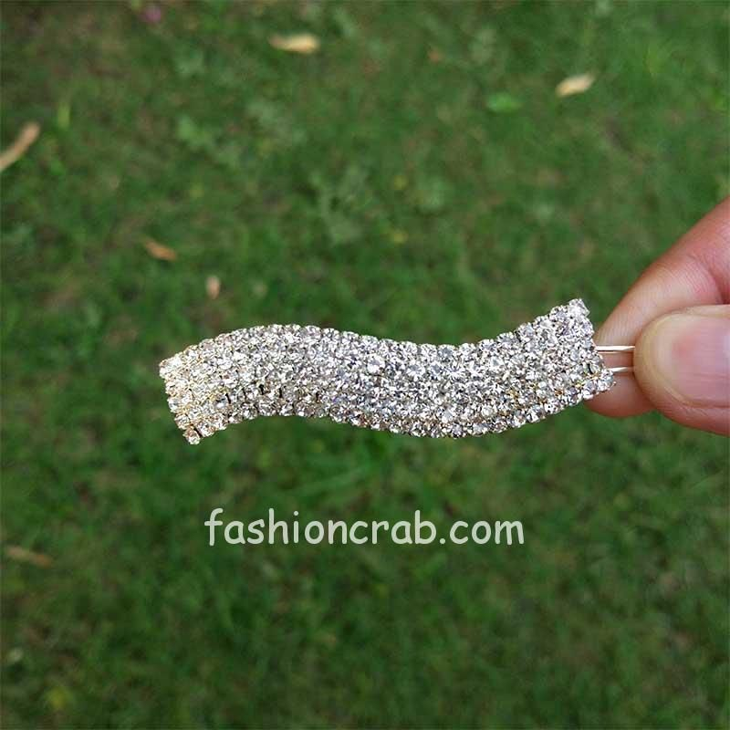 Rhinestone Crystal Designer Hair Clip