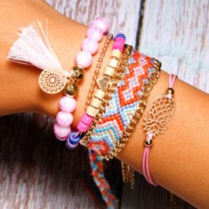 6-Pieces-Bohemian-Handmade-Charm-Bracelet