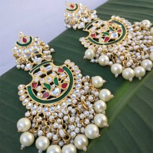 Celebrity Inspired Designer Pearl Earrings