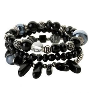 Handmade Natural Stone Charm Bracelet