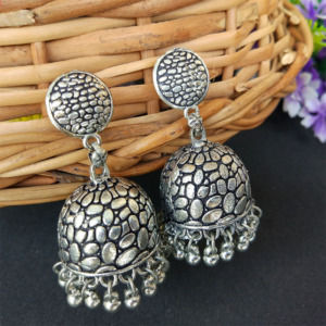Snake Print Jhumka Earring for Women