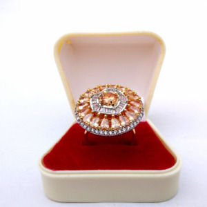 High Quality Cubic Zirconia Ring for Women