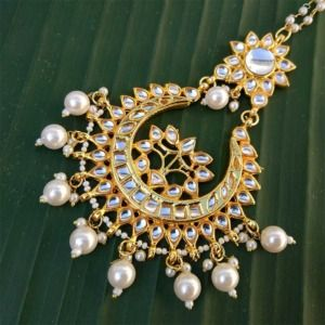 Pearl Chand Maangtikka for Wedding