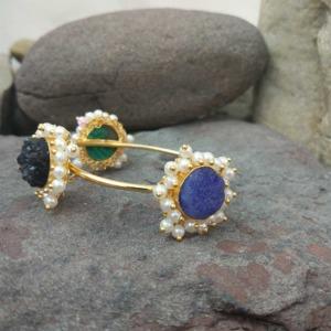 Multi Color Druzy Stone Bracelet for Girls