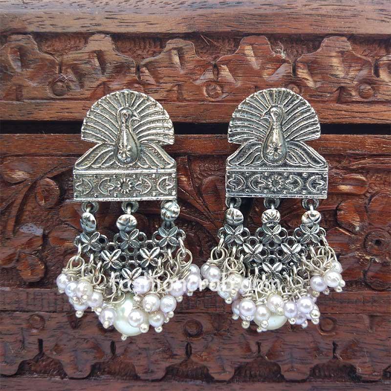 Beautiful Hanging Pearl Earrings for Dailywear