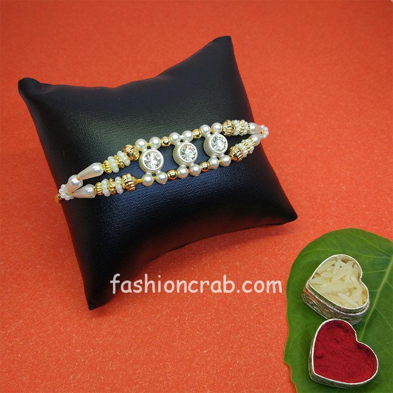 Elegant Designer Rakhi for Brother