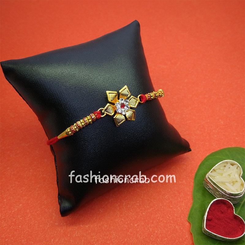 Floral Designer Rakhi