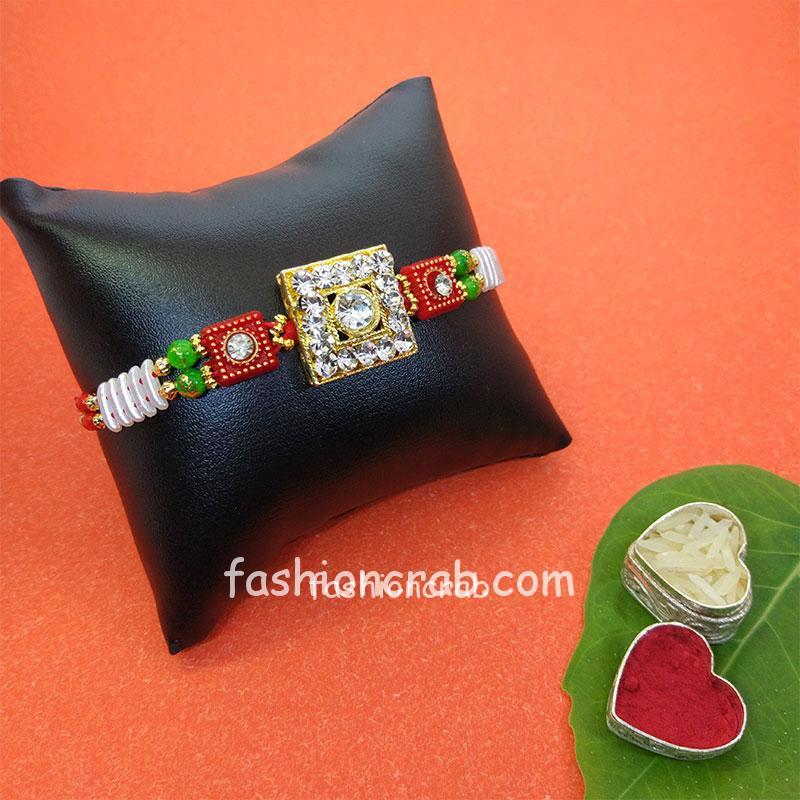 Handmade Stone Rakhi