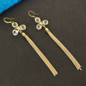 Golden Chain Earrings for Women