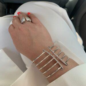 Hand Bracelet with Pantsuit