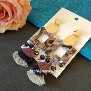 Long Tassel Bohemian Earrings