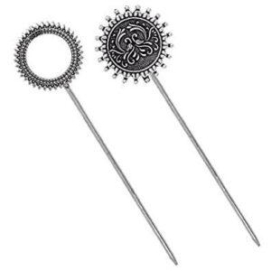 Oxidized Hair Pin