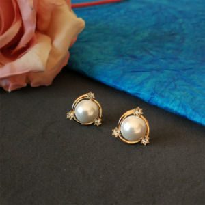 Pearl Stud Earring for Bridesmaids