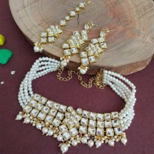 Antique Kundan Choker Set for Women