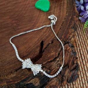 Bow Shape Hand Bracelet for Women