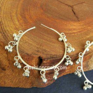 Ghungroo Hoop Earrings for Girls