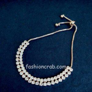 Rose Gold Hand Bracelet for Women