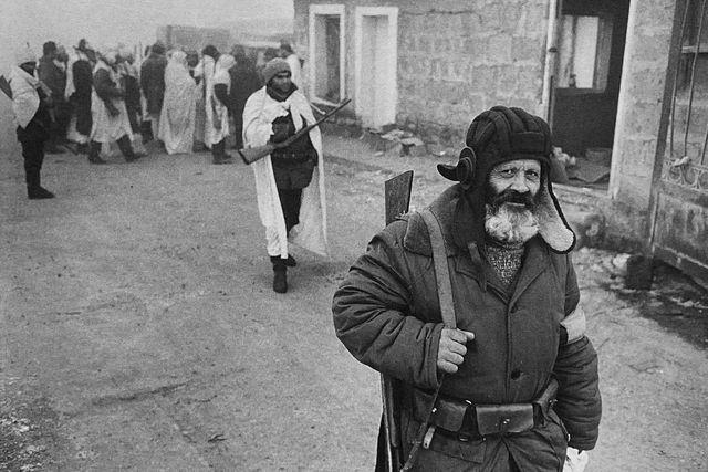 Arménie, Náhorní Karabach, Nachičevan 1988-90