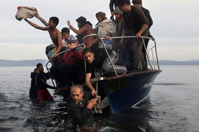 Uprchlická krize v Evropě 2015