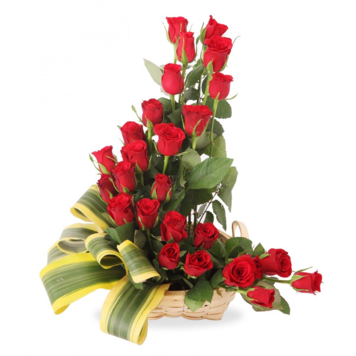 L Shaped Roses
