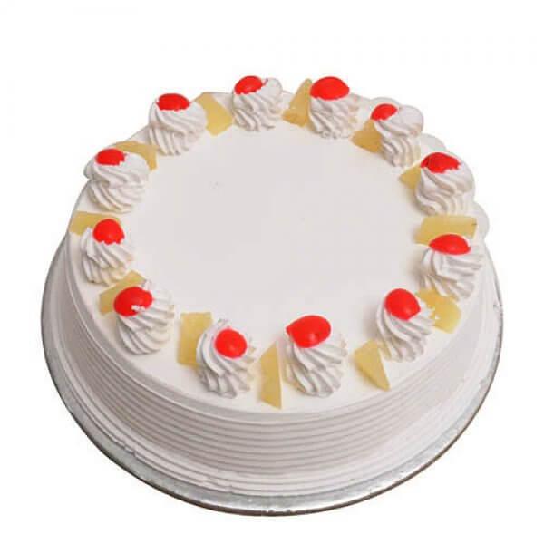 Pineapple Cake Half Kg