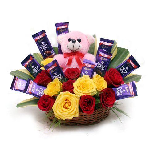 Delightful surprise Basket