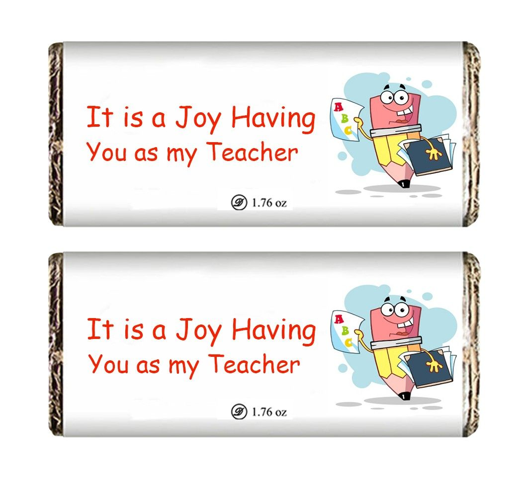 Joy to Have You Chocolate Bar