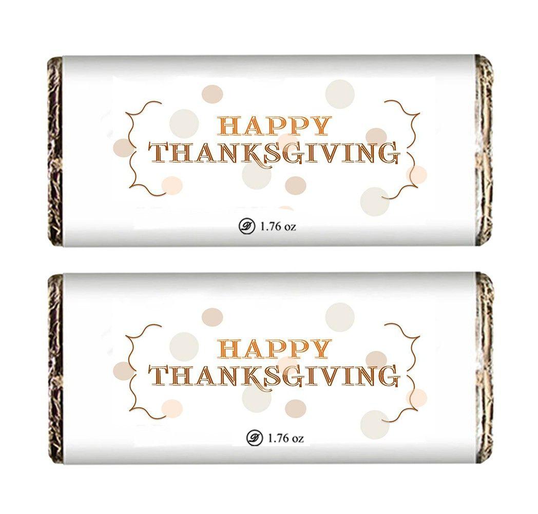 Scrumptious Thanksgiving Chocolate Bar