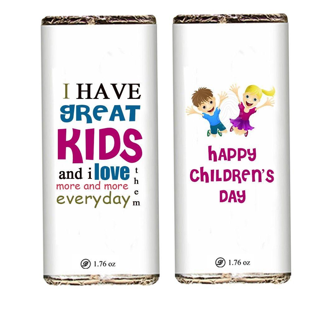 Childrens Day Chocolate Bar