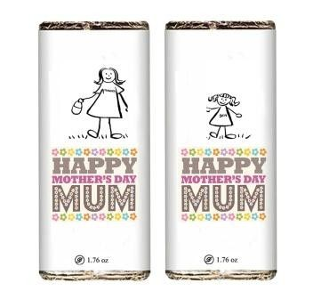 Sweet Mother's Day Chocolate bar