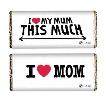Ecstatic Mother's Day Chocolate Bar