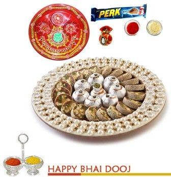 Bikanervala Pearls bhaidooj Platter