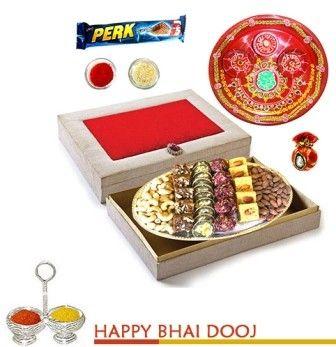 Bikanervala bhaidooj Silver Box