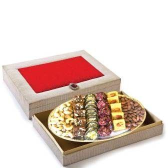 Bikanervala New Year Silver Box