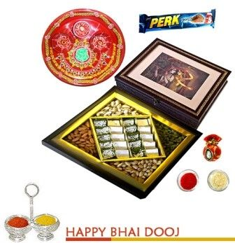 Premium bhaidooj Meetha and Mewa