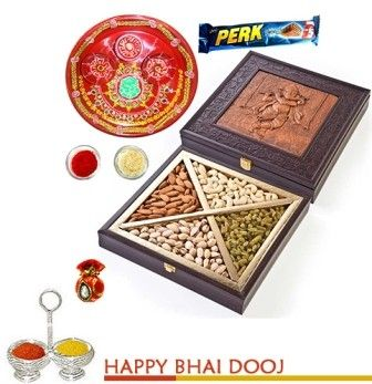Ganesha bhaidooj Dryfruit Box