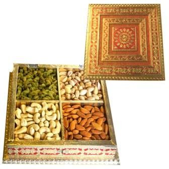 Dryfruit Metal Box on New Year