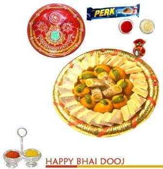 Golden Kaju Sweets on bhaidooj